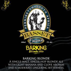 Basset Brewery Barking Blonde