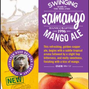 Nottingham Road Brewing Company Swinging Samango Mango Ale