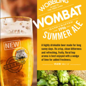 Nottingham Road Brewing Company Wobbling Wombat Summer Ale