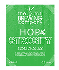 The Toti Brewing Company Hopstrosity