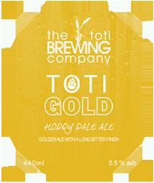 The Toti Brewing Company Toti Gold