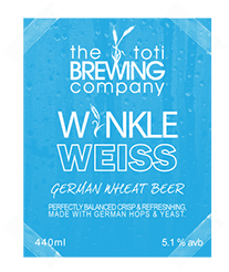 The Toti Brewing Company Winkle Weiss