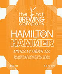 The Toti Brewing Company Hamilton Hammer
