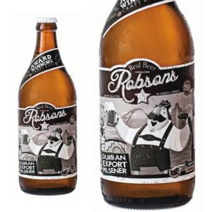Robson's Real Beer Durban Export Pilsner