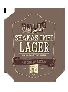 Ballito Brewing Company Shakas Impi Lager