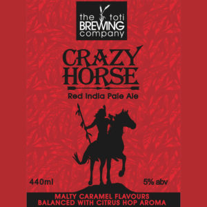 Crazy Horse Red IPA Toti Brewing Company